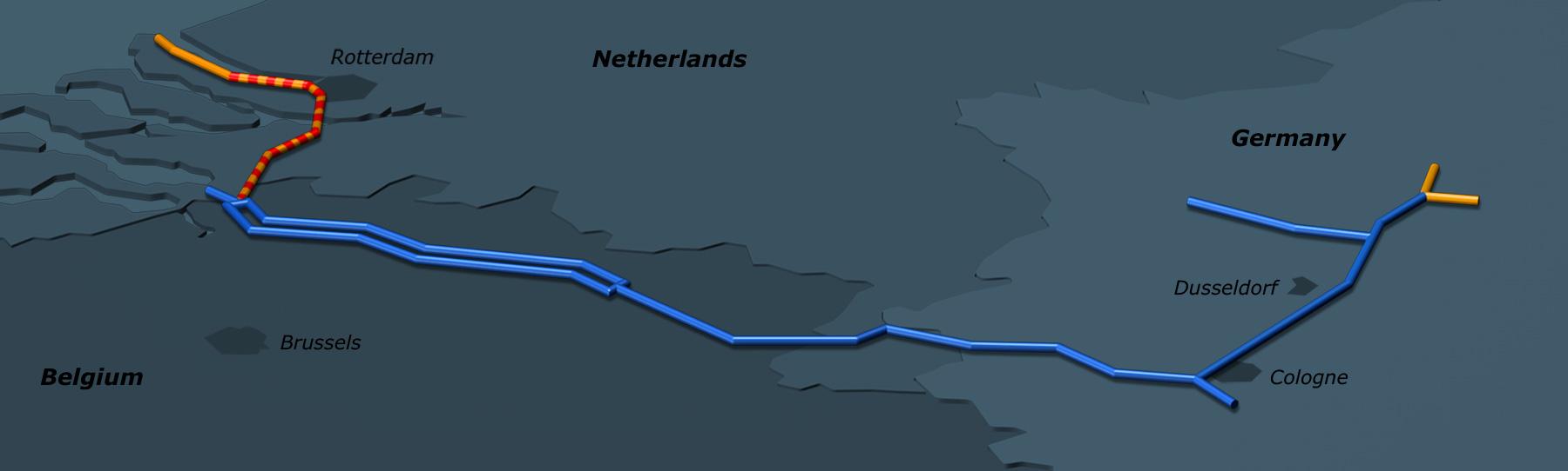 ARG | Ethylene pipeline in Germany, Belgium and the Netherlands